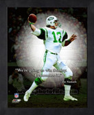 Joe Namath New York Jets 11x14 ProQuote Photo