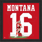 Joe Montana San Francisco 49ers 20x20 Framed Uniframe Jersey Photo