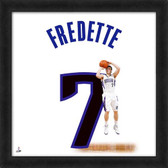 Jimmer Fredette Sacramento Kings 20x20 Framed Uniframe Jersey Photo