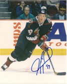 Jeremy Roenick Phoenix Coyotes Signed 8x10 Photo