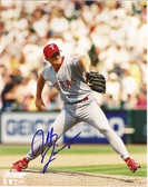Jeff Zimmerman Texas Rangers Signed 8x10 Photo
