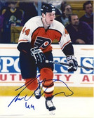 Janne Niinimaa Philadelphia Flyers Signed 8x10 Photo