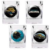 Jacksonville Jaguars 4pc Collector's Shot Glass Set GSSC4PK2029-35