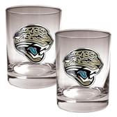 Jacksonville Jaguars 2pc Rocks Glass Set