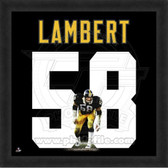Jack Lambert Pittsburgh Steelers 20x20 Framed Uniframe Jersey Photo