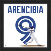 J.P. Arencibia Toronto Blue Jays 20X20 Framed Uniframe Jersey Photo