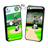 Iphone 5 MLB Oakland A'S Mascot Lenticular Case