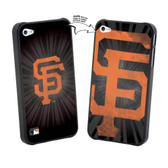 Iphone 4/4S MLB SF Giants Large Logo Lenticular Case