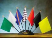 Indy 500 Motor Speedway 7 Piece Flag Set