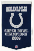 "Indianapolis Colts 24""x36"" Wool Dynasty Banner"