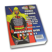 Image Guard Comic Backing Boards Magazine Size