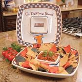 Illinois Fighting Illini Gameday Chip & Dip Set