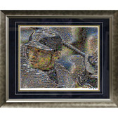 Ichiro Suzuki Seattle Mariners Mosaic Framed 16x20 Photo (Ltd of 1000)