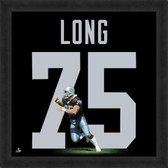 Howie Long Oakland Raiders 20x20 Framed Uniframe Jersey Photo