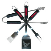 Houston Texans 4 pc BBQ Set