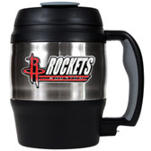 Houston Rockets 52oz. Stainless Steel Macho Travel Mug with Bottle Opener