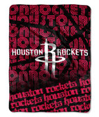 "Houston Rockets 46"" x 60"" Micro Raschel Throw Blanket - Redux Design"