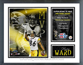 Hines Ward Pittsburgh Steelers Super Bowl XL MVP Milestones & Memories Framed Photo