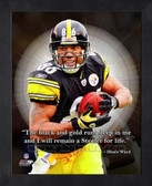 Hines Ward Pittsburgh Steelers 11x14 Framed ProQuote Photo