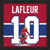 Guy Lafleur Montreal Canadians 20x20 Framed Uniframe Jersey Photo