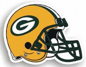 "Green Bay Packers 12"" Helmet Car Magnet"