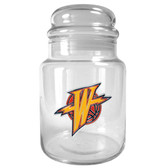 Golden State Warriors 31oz Glass Candy Jar