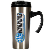 Golden State Warriors 16oz Stainless Steel Travel Mug