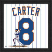 Gary Carter New York Mets 20x20 Framed Uniframe Jersey Photo