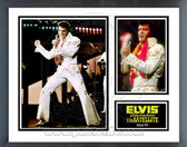 Elvis Presley Aloha from Hawaii Music & Memories Framed Photo