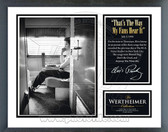 "Elvis Presley - ""That's The Way My Fans Hear It"" Music & Memories Framed Photo"