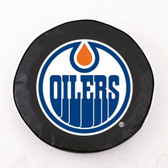 Edmonton Oilers Black Tire Cover, Large