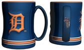 Detroit Tigers Coffee Mug - 15oz Sculpted