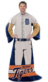 "Detroit Tigers 48""x71"" Comfy Throw - Player Design"