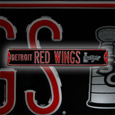 Detroit Red Wings 2008 Stanley Cup Avenue Sign