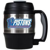 Detroit Pistons 52oz. Stainless Steel Macho Travel Mug with Bottle Opener