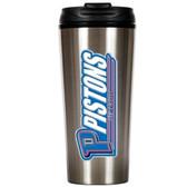 Detroit Pistons 16oz Stainless Steel Travel Tumbler