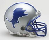 Detroit Lions 1983-2002 Throwback Riddell Mini Football Helmet
