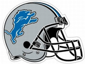 "Detroit Lions 12"" Car Magnet"