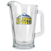 Denver Nuggets 60oz Glass Pitcher