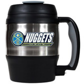 Denver Nuggets 52oz. Stainless Steel Macho Travel Mug with Bottle Opener