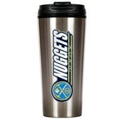 Denver Nuggets 16oz Stainless Steel Travel Tumbler