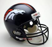 Denver Broncos Riddell Full Size Deluxe Replica Football Helmet