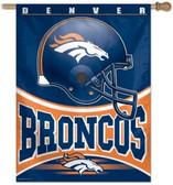 """Denver Broncos 27""""x37"""" Banner"""