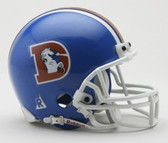 Denver Broncos 1975-1996 Throwback Riddell Mini Football Helmet