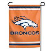 """Denver Broncos 11""""x15"""" Garden Flag"""