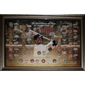 David Wright Mets All Time Hits Leader Framed 20x32 Collage with Hit Totals vs Each Team