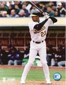 David Justice Oakland Athletics 8x10 Photo #1