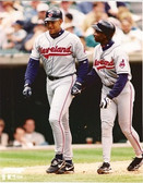 David Justice Kenny Lofton Cleveland Indians 8x10 Photo