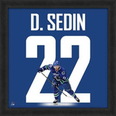 Daniel Sedin Vancouver Canucks 20x20 Framed Uniframe Jersey Photo