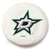 Dallas Stars White Tire Cover, Large